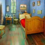 Reconstruction of Vincent's Bedroom in Arles