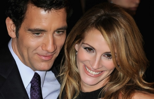 Clive and Julia Roberts