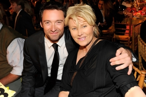 Hugh and his wife