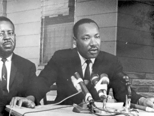 Martin Luther King, Jr and Ralph Abernathy