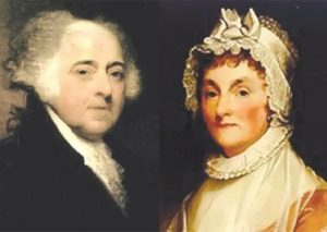John Adams and his wife Abigail