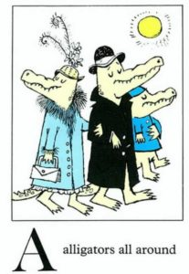 Alligators All Around by Sendak