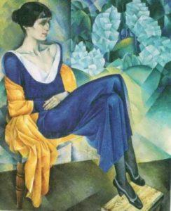 N. Altman. Akhmatova, 1914