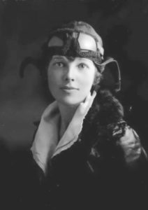 Amelia Mary Earhart – woman pilot