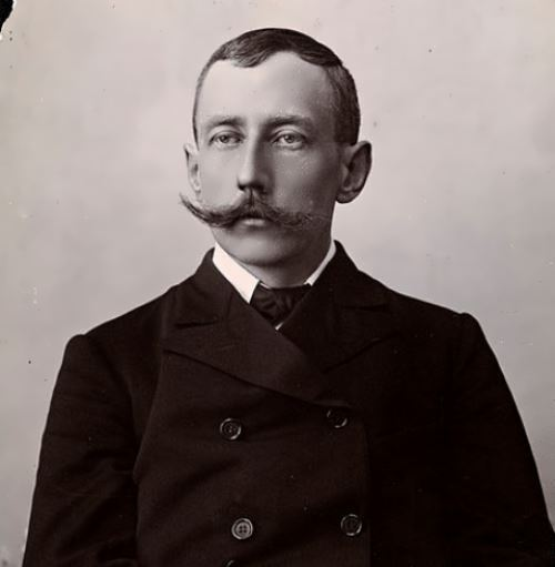 Portrait of Amundsen, 1909