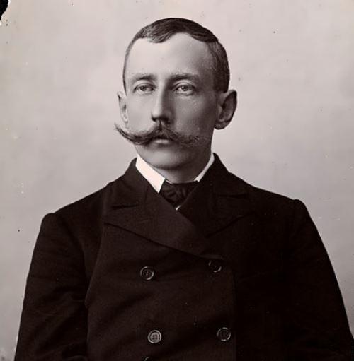 Portrait of Amundsen, 1909