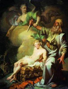 Andrea del Sarto. Abraham's Sacrifice, 1527