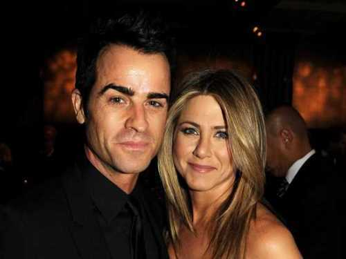 Aniston and Justin Theroux