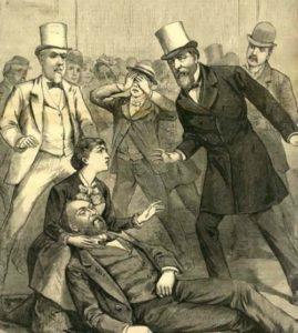 Assassination of US president James Garfield