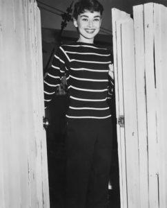 Audrey Hepburn in SONIA RYKIEL pullover