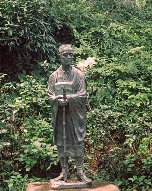 Monument to Basho