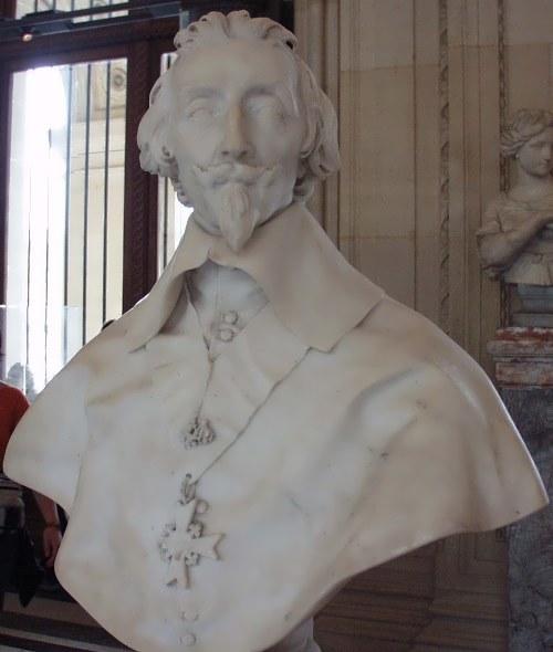 Bernini. Bust of Richelieu