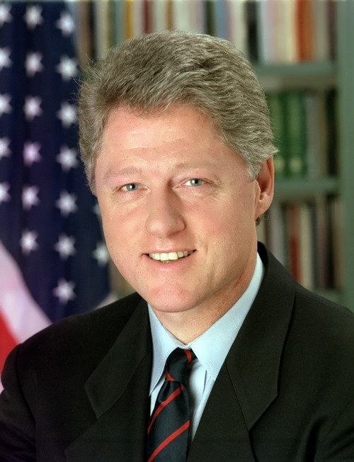 Bill Clinton - 42nd president of America