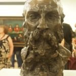 Bust of Rodin by Claudel, 1888