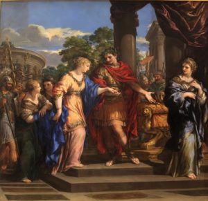 Caesar giving Cleopatra the Throne of Egypt. Pietro de Cortone