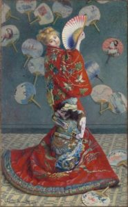 Camille Monet in Japanese Costume, 1876