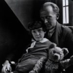 Milne and his son Christopher Robin