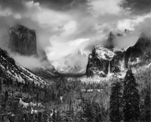 Clearing Winter Storm, Yosemite Valley, California, 1942