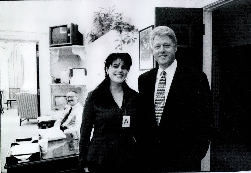 Bill and Monica Lewinsky