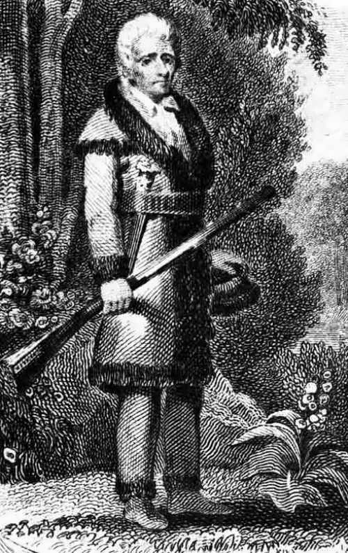 Daniel Boone - American frontiersman