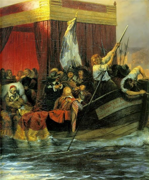 Delaroche Paul. Cardinal Richelieu, 1829