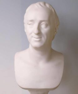 Bust of Diderot. Marie-Anne Collot. France, 1772, Marble