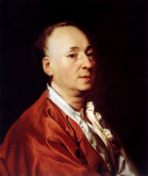 Dmitry Levitsky. Portrait of Diderot, 1773-1774