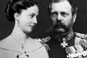 Alexander and Ekaterina Dolgorukova