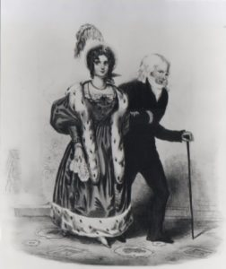 Dorothea and Talleyrand in London