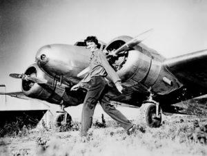 Amelia and Lockheed L-10E Electra
