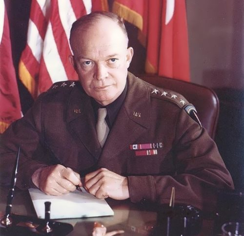 General Dwight D. Eisenhower, 1943