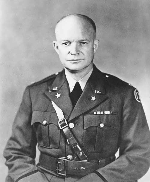 Eisenhower - famous general during World War II