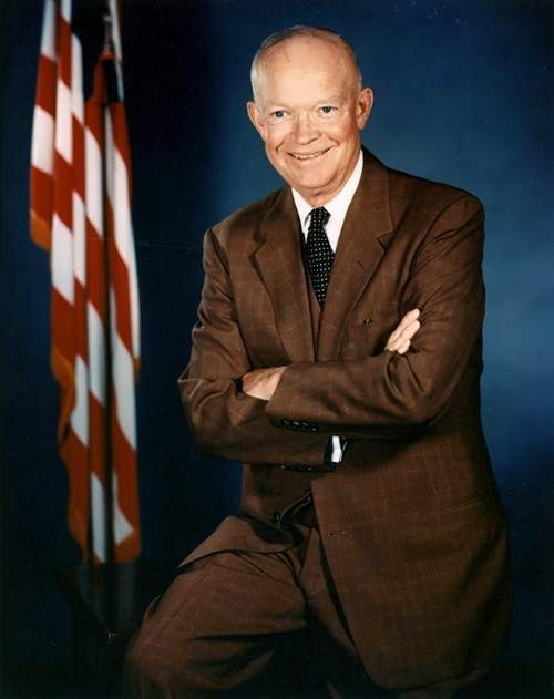 Dwight David Eisenhower – 34th president of America