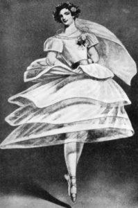 Elssler - famous Austrian ballet dancer