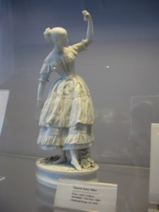 Fanny - famous ballerina of the XIX century