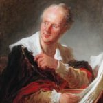 Jean-Honore Fragonard. Portrait of Diderot