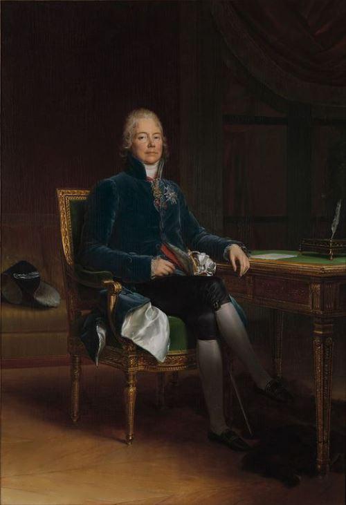 Francois Gerard (1770-1837). Charles Maurice Talleyrand Perigord, Prince de Benevent