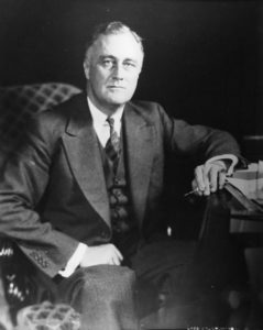 Franklin Delano Roosevelt – 32nd president of America