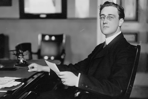 Franklin D. Roosevelt - the star of American politics