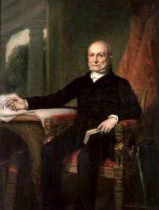 John Quincy Adams by George Peter Alexander Healy, 1858