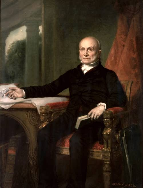 John Quincy Adams by George Peter Alexander Healy, 1858