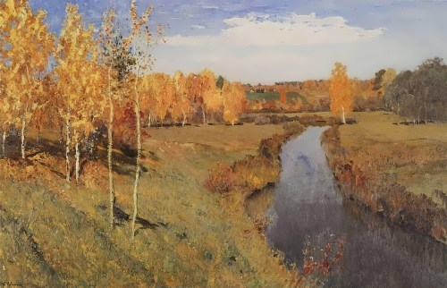 Golden Autumn. The Tretyakov Gallery, Moscow, Russia