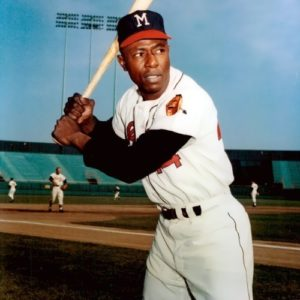 Hank Aaron - baseball star