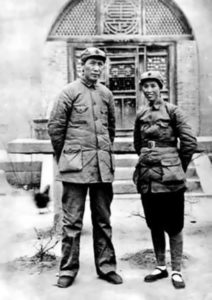 Third wife He Zizhen and Mao Zedong