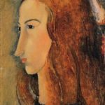 Portrait of Jeanne Hebutern, 1918, Yale University Art Gallery, New Haven