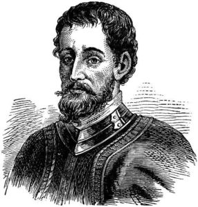Hernando De Soto - the first European to see the Mississippi River