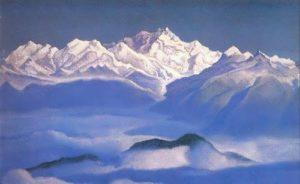 Himalayas. Blue Mountains
