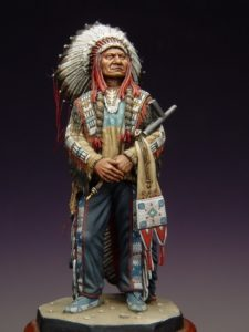 Indian Chief Sitting Bull - SOGA Miniatures