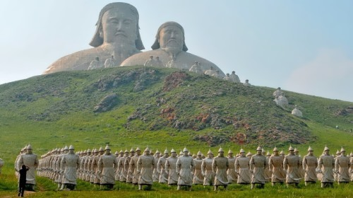 Memorial in Inner Mongolia, China