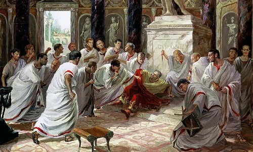 Irina Gornostaeva. The murder of Caesar. 2003